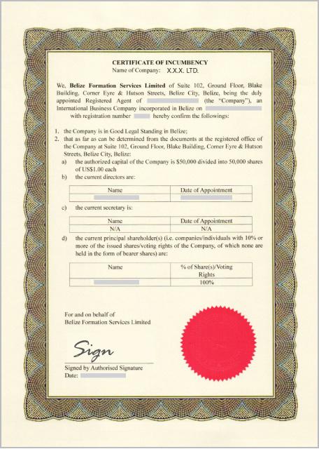 Webllt certificate of incumbency of director yelopaper Image collections